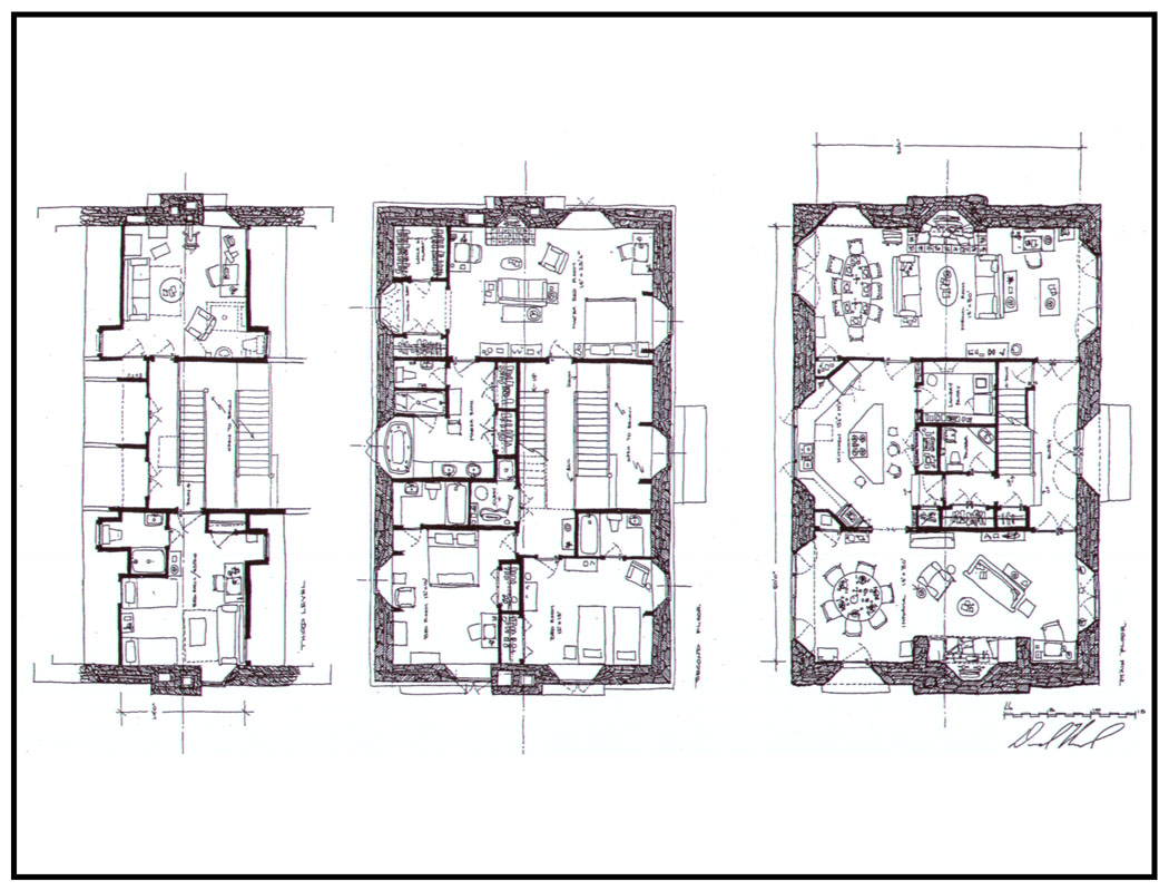 House Floor Plans With Photos Firstday Cottage House Kits David Howard Plans